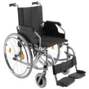 Trendmobil Rollstuhl TMB Faltrollstuhl Transportrollstuhl Reiserollstuhl mit Steckachsensystem - Sitzbreite 42 / 45 / 48 oder 51 cm nach Wahl - Personen Trans Porter - 1
