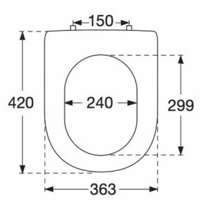 villeroy boch 98m9c101 wc sitz omnia architectura scharniere es quick release softclosing. Black Bedroom Furniture Sets. Home Design Ideas